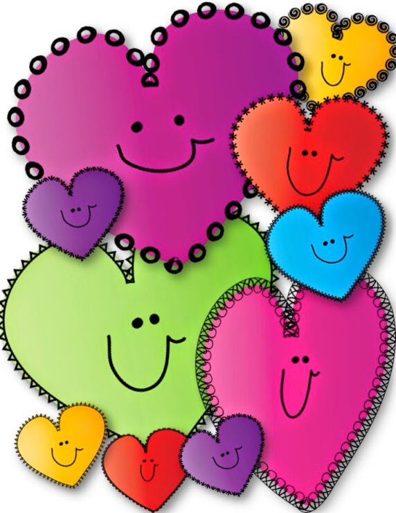 free happy hearts clip art teacher karma rh teacherkarma com free heart clip art with swashes free heart clipart downloads