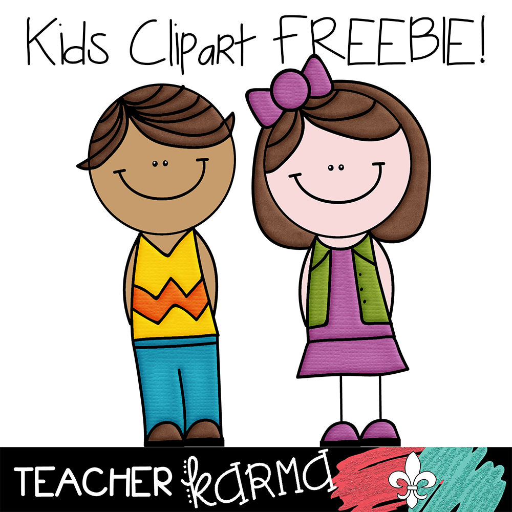2 free kids student clipart teacher karma