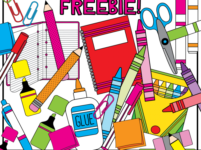 school supplies clipart teacherkarma.com