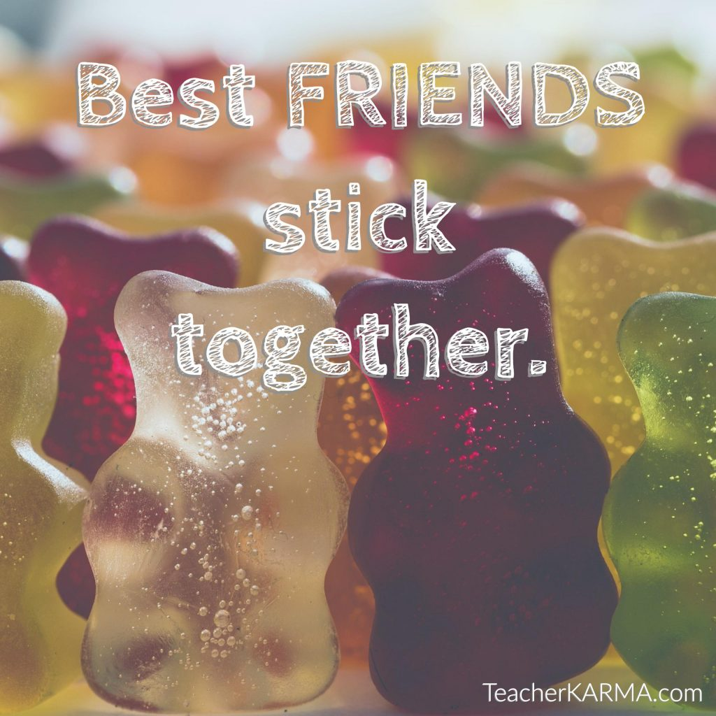 best friends stick together teacherkarma.com