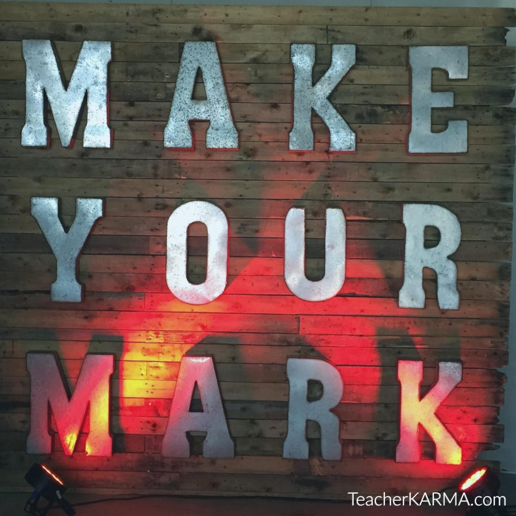 make your mark teacherkarma.com