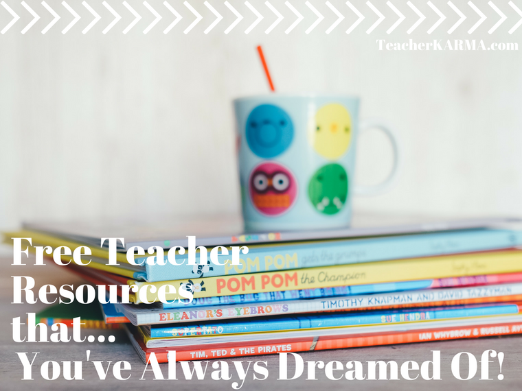 free teacher resources list