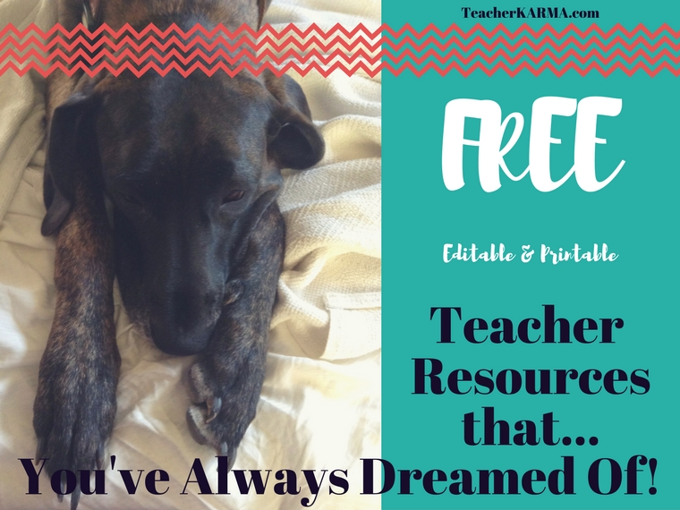teacher resource list of freebies teacherkarma.com
