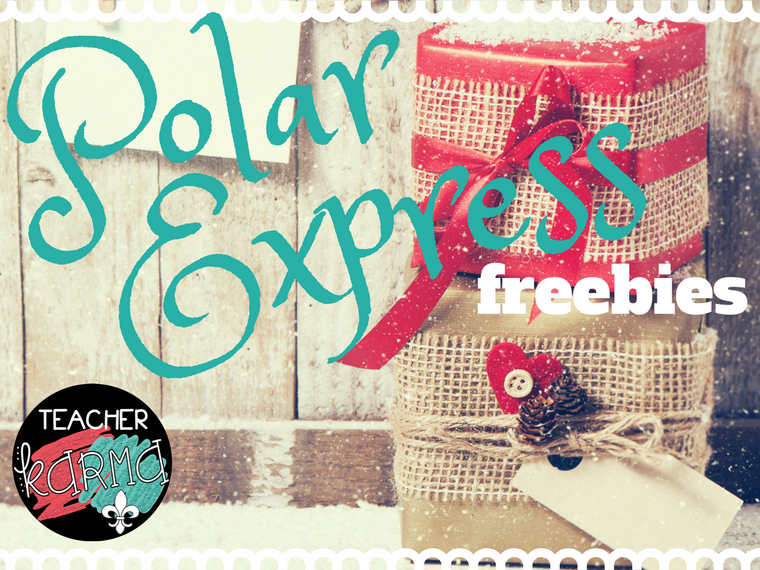 free Polar Express resources