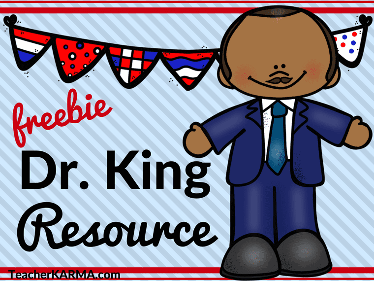 MLK Resources - FREE Printable Resource for Martin Luther King, Jr.