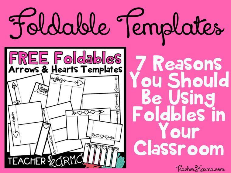 FREE Foldable Interactives and Flip BookTemplates TeacherKarma.com