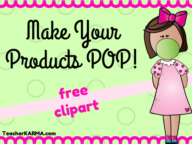 FREE Student Clipart for Teachers TeacherKarma.com