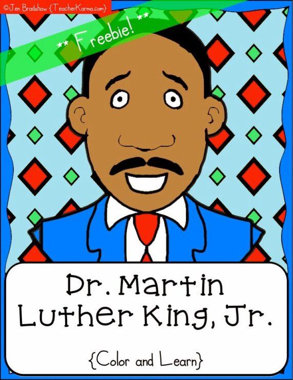 Martin Luther King, Jr. FREEBIE! — Teacher KARMA