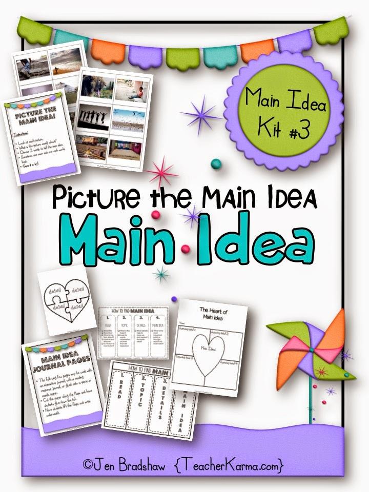 topic main idea details