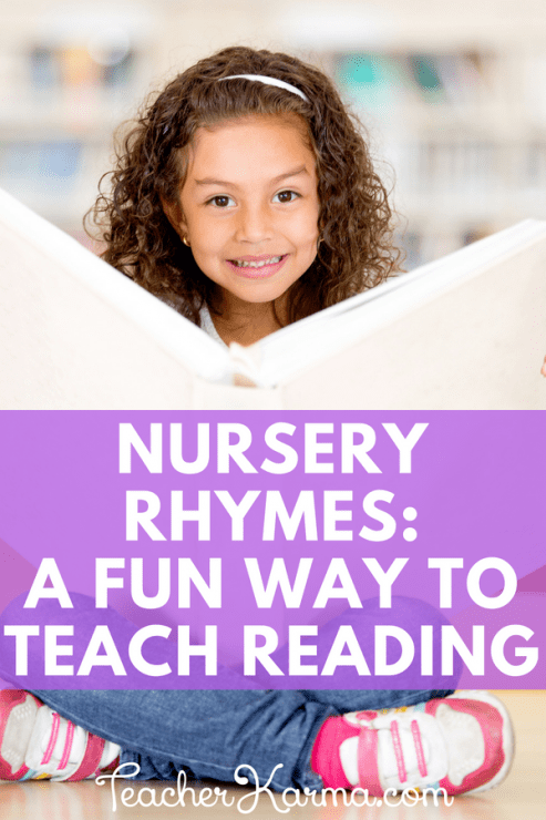 Nursery Rhymes- how to use these poems to teach beginning reading skills #nurseryrhyme #nurseryrhymes #guidedreading #tpt #teacherkarma