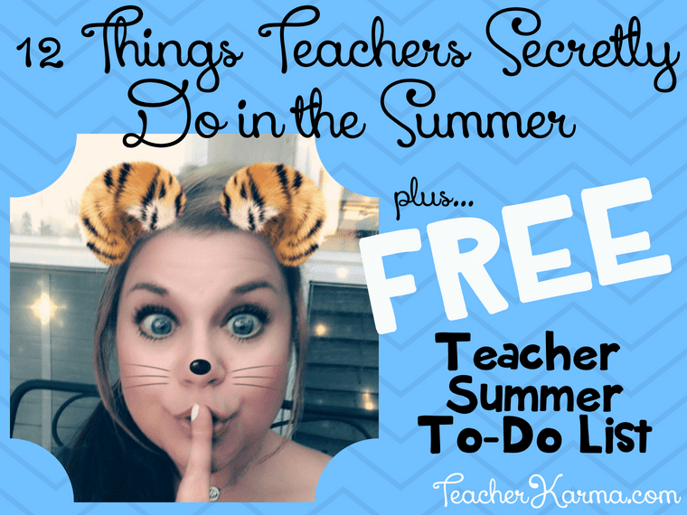 what teachers really do during the summer #summerfun #teachersinsummer #teacherlife #teachersecrets